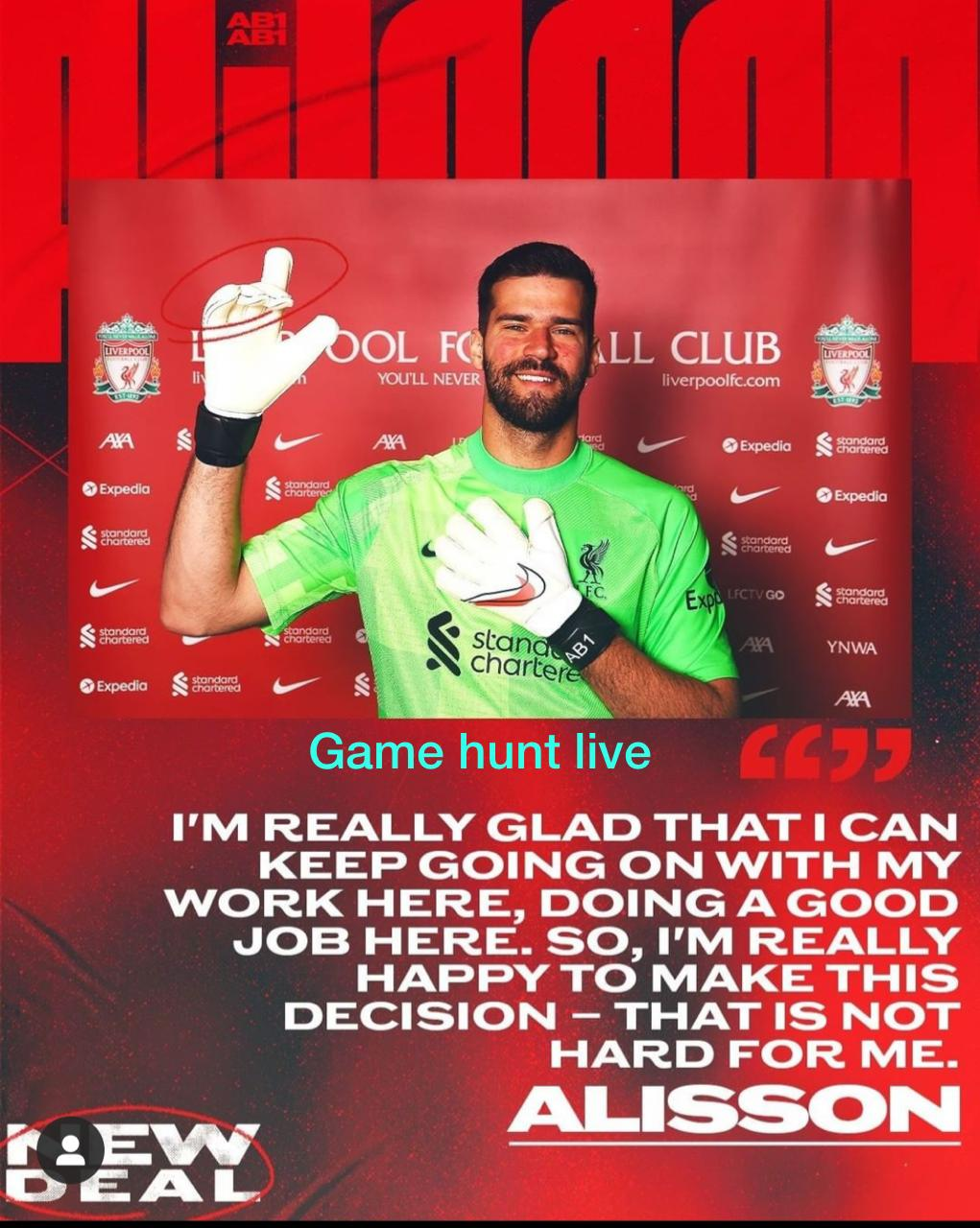 Alisson Becker Signed A New Team