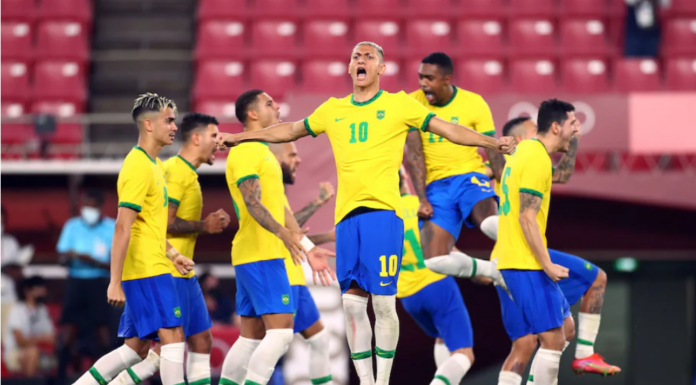 Brazil won olympic 2020 final