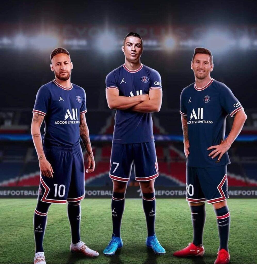 Cristiano Ronaldo , Messi, Naymer